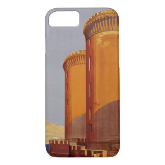 Vintage Napoli Italia Naples Italy Travel iPhone 8/7 Case