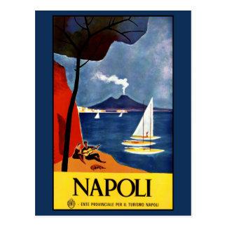 Vintage Napoli (Naples) Italy postcard