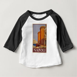 Vintage Napoli Travel Baby T-Shirt