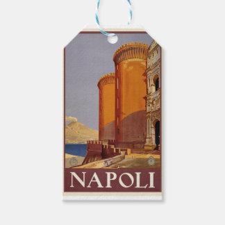 Vintage Napoli Travel Gift Tags