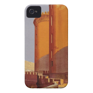 Vintage Napoli Travel iPhone 4 Cover