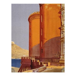 Vintage Napoli Travel Letterhead