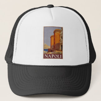 Vintage Napoli Travel Trucker Hat