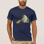 Vintage Narwhal and Yeti - Best Friends T-Shirt