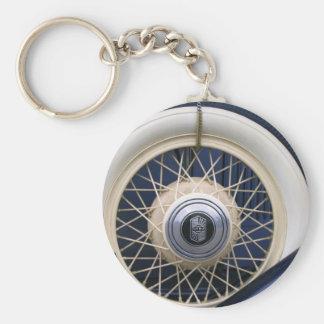 Vintage Nash Tire Keychain