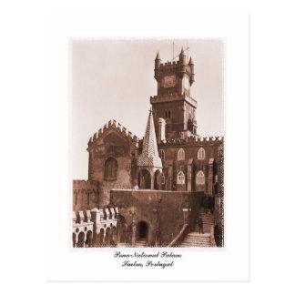 Vintage national palace photo postcard