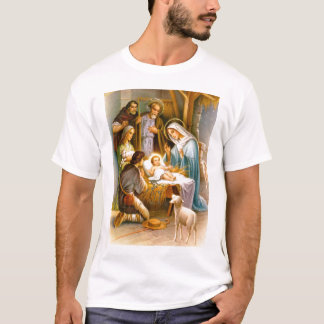 Vintage nativity scene T-Shirt
