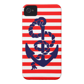 Vintage Nautical Anchor iPhone 4 Cover