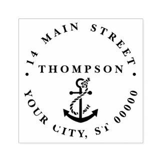 Vintage Nautical Anchor Ship Preppy #2 Rubber Stamp