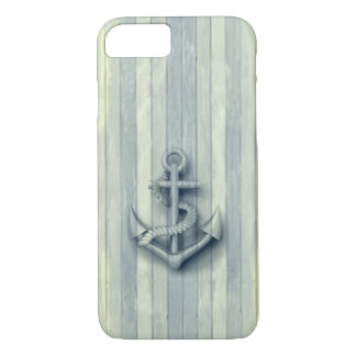 Vintage nautical classy anchor iPhone 8/7 case