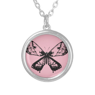 Vintage necklace with Butterfly