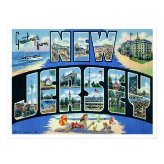 Vintage New Jersey Postcard
