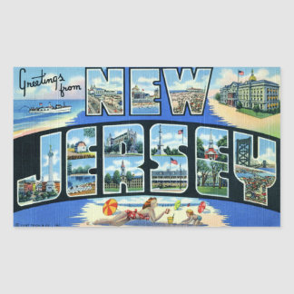 Vintage New Jersey Sticker