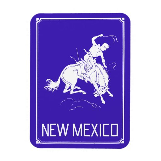 Vintage New Mexico Flexible Magnet