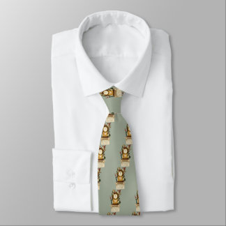 Vintage-New-Years-Gnomes Tie