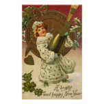 Vintage New Year's Posters