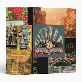 Vintage New York Binder