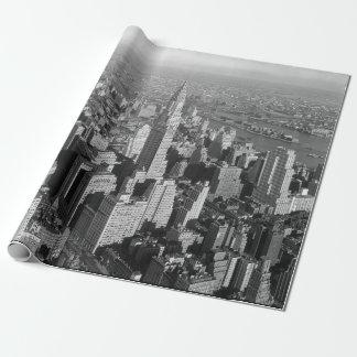 Vintage New York City Art Deco Skyscraper
