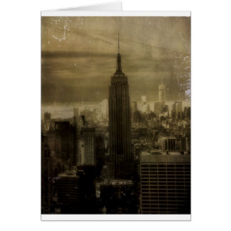 Vintage New York City Card
