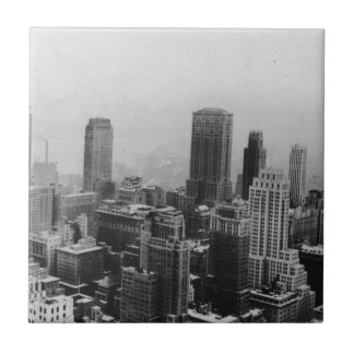 Vintage New York City Ceramic Tile