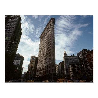 Vintage New York City Flatiron District 5th Avenue Postcard
