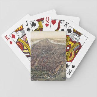 Vintage New York City, Manhattan, Brooklyn Bridge Playing Cards