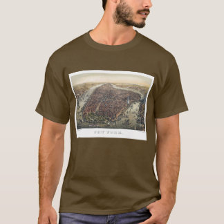 Vintage New York City, Manhattan, Brooklyn Bridge T-Shirt