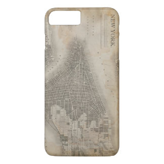 Vintage New York City Map iPhone 8 Plus/7 Plus Case