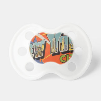 Vintage New York City Pacifier