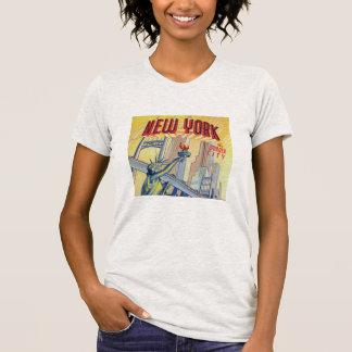 Vintage New York City Postcard Shirt