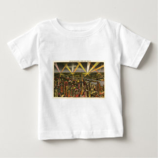 Vintage New York City Skyline Baby T-Shirt