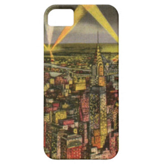 Vintage New York City Skyline Case For The iPhone 5