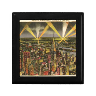 Vintage New York City Skyline Gift Box