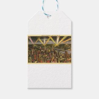 Vintage New York City Skyline Gift Tags