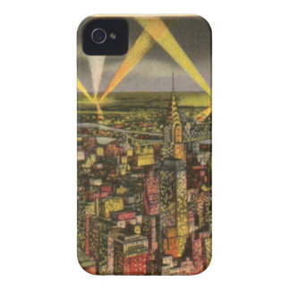 Vintage New York City Skyline iPhone 4 Case-Mate Case