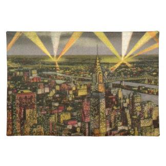 Vintage New York City Skyline Placemat