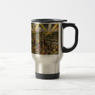 Vintage New York City Skyline Travel Mug