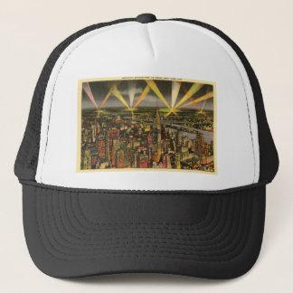 Vintage New York City Skyline Trucker Hat
