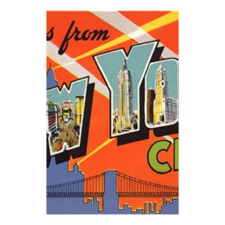 Vintage New York City Stationery