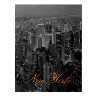 Vintage New York City Travel Photography Postcard