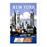 Vintage New York City Travel Post Card