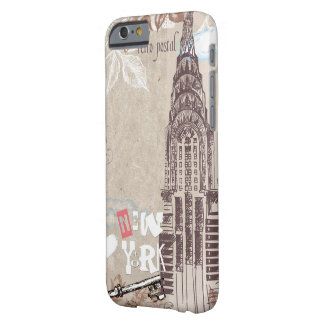 Vintage New York Design Barely There iPhone 6 Case