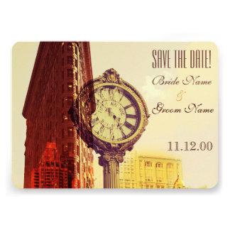 Vintage New York fifth avenue Invite