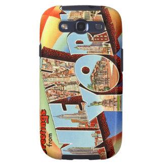 Vintage New York Samsung Galaxy SIII Case