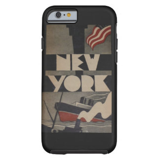 Vintage New York Travel iPhone 6 Case