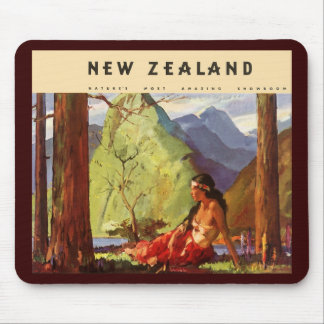 Vintage New Zealand Mousepads