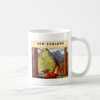 Vintage New Zealand Mug