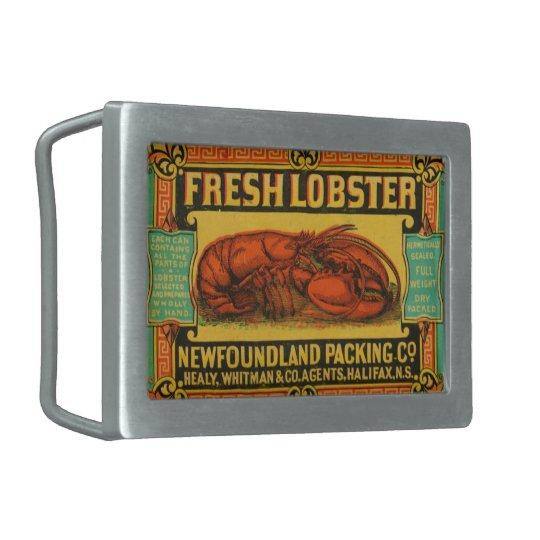 Vintage Newfoundland Lobster Belt Buckle