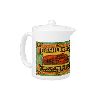 Vintage Newfoundland Lobster Teapot