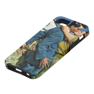 Vintage Newlyweds Buy First House, We're Moving! iPhone 5 Covers